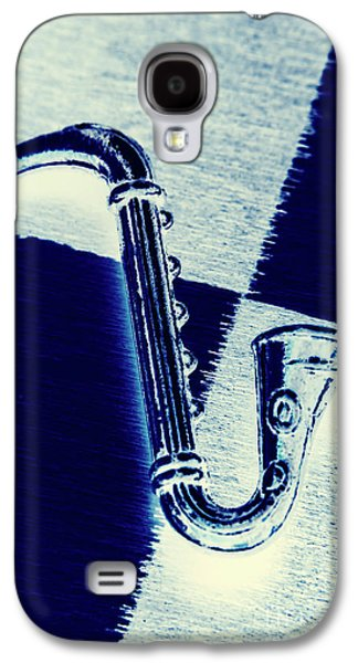 Saxophone Galaxy S4 Case - Retro Blues by Jorgo Photography - Wall Art Gallery
