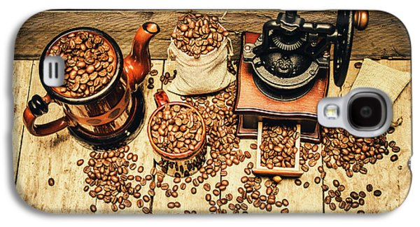 Retro Coffee Bean Mill Galaxy S4 Case by Jorgo Photography - Wall Art Gallery