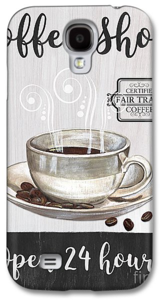 Retro Coffee Shop 1 Galaxy S4 Case by Debbie DeWitt