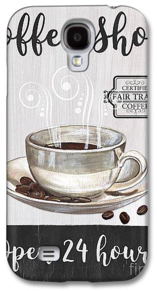 Retro Coffee Shop 1 Galaxy S4 Case