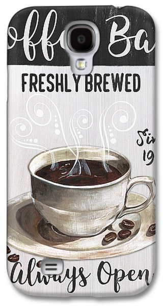 Retro Coffee Shop 2 Galaxy S4 Case by Debbie DeWitt
