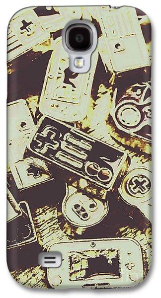 Retro Computer Games Galaxy S4 Case by Jorgo Photography - Wall Art Gallery