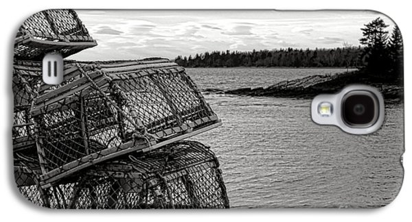 Retro Maine Scene  Galaxy S4 Case by Olivier Le Queinec