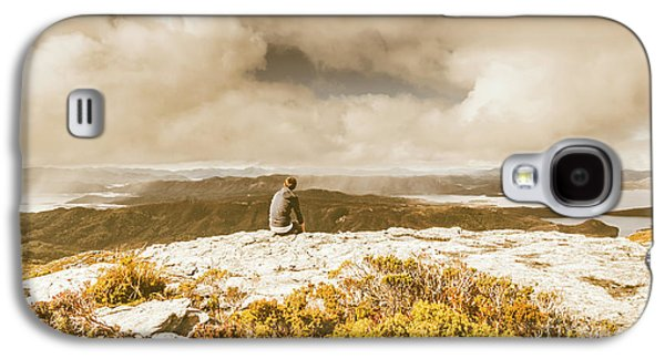 Travel Galaxy S4 Case - Retro Mountaintop Views by Jorgo Photography - Wall Art Gallery