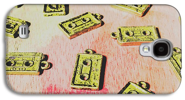Retro Music Tapes Galaxy S4 Case by Jorgo Photography - Wall Art Gallery