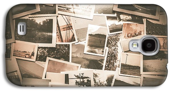 Retro Photo Album Background Galaxy S4 Case by Jorgo Photography - Wall Art Gallery