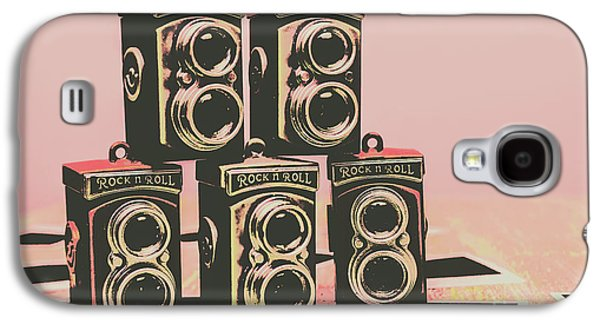 Retro Photo Camera Pop Art  Galaxy S4 Case by Jorgo Photography - Wall Art Gallery