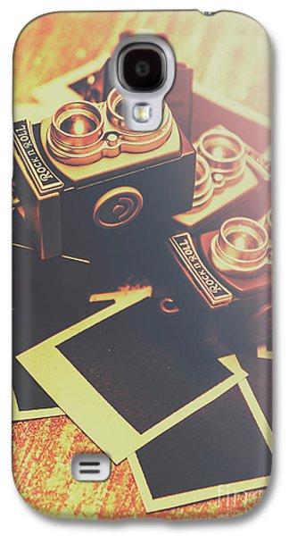 Retro Twin Lens Reflex Cameras Galaxy S4 Case by Jorgo Photography - Wall Art Gallery