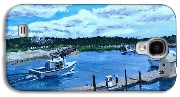 Returning To Sesuit Harbor Galaxy S4 Case by Jack Skinner
