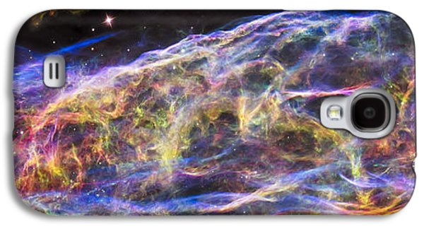 Galaxy S4 Case featuring the photograph Revisiting The Veil Nebula by Adam Romanowicz