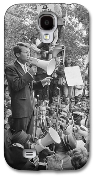Rfk Speaking At Core Rally Galaxy S4 Case