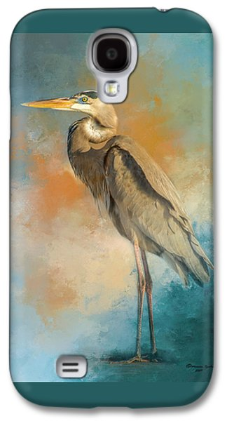 Egret Galaxy S4 Case - Rhapsody In Blue by Marvin Spates