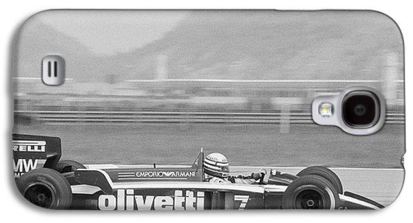 Riccardo Patrese. 1986 Brazilian Grand Prix Galaxy S4 Case by Oleg Konin