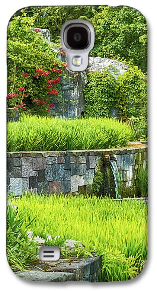 Rice Garden Galaxy S4 Case by Wim Lanclus