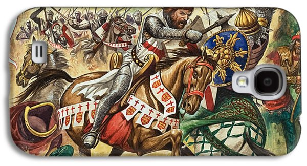 Richard The Lionheart During The Crusades Galaxy S4 Case by Peter Jackson