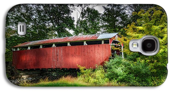 Richards Covered Bridge Galaxy S4 Case by Marvin Spates