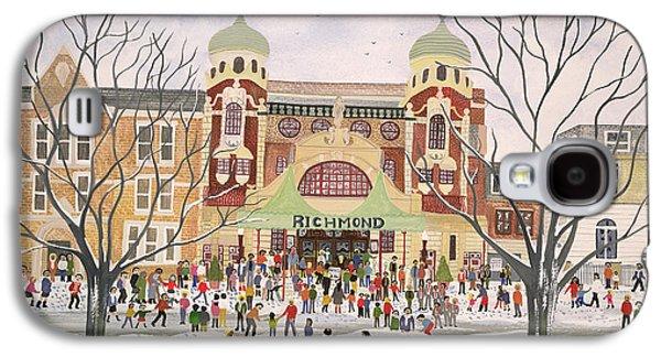 Richmond Theatre   Surrey Galaxy S4 Case by Judy Joel
