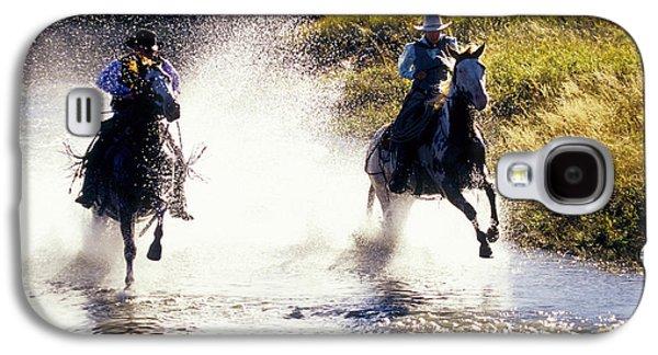 Riders In A Creek Galaxy S4 Case