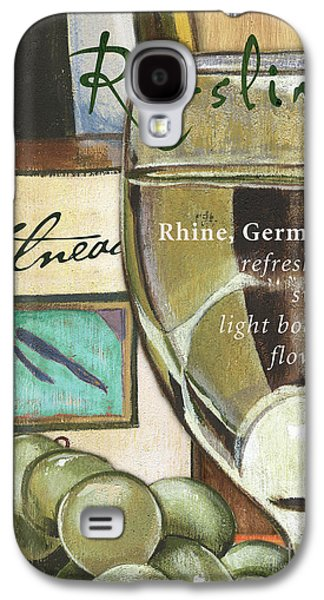 Riesling Wine Galaxy S4 Case by Debbie DeWitt