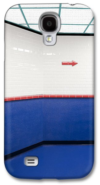 Right Turn Ahead Galaxy S4 Case by Paul Wear
