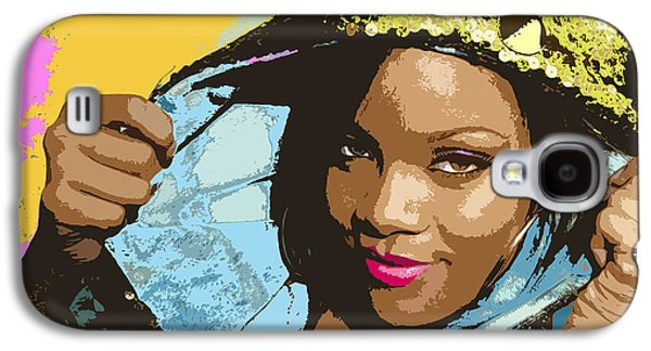 Rihanna Galaxy S4 Case by John Keaton