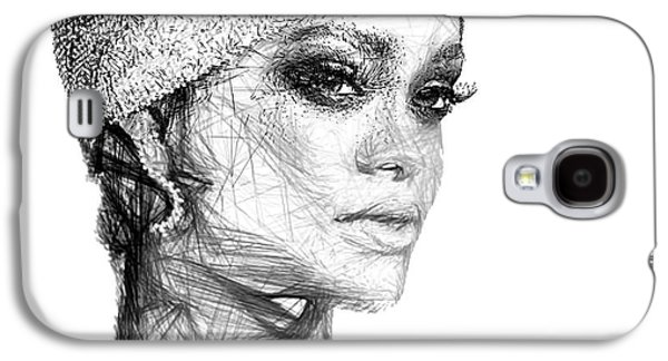 Rihanna Galaxy S4 Case