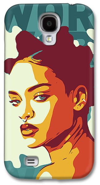 Rihanna Galaxy S4 Case