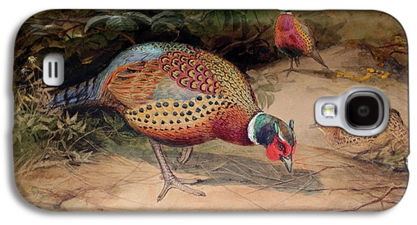 Ring Necked Pheasant Galaxy S4 Case