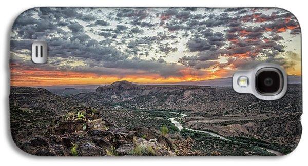 Rio Grande River Sunrise 2 - White Rock New Mexico Galaxy S4 Case