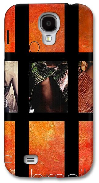 Portuguese Mixed Media Galaxy S4 Cases - Rio-Vogue Series Galaxy S4 Case by Vel Verrept