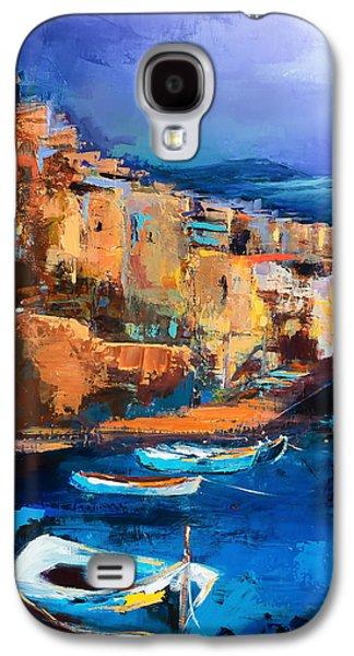 Riomaggiore - Cinque Terre Galaxy S4 Case by Elise Palmigiani