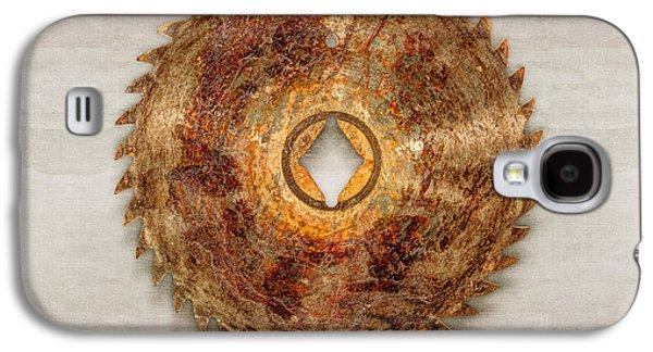 Rip Tooth Sawblade Galaxy S4 Case by YoPedro