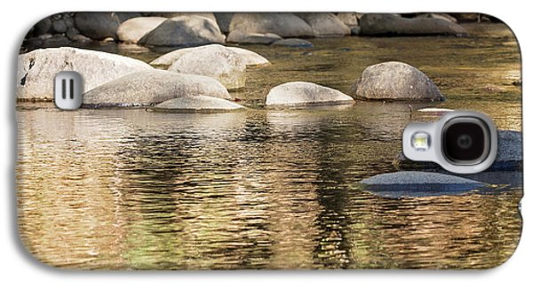 Galaxy S4 Case featuring the photograph Ripples And Rocks by Linda Lees
