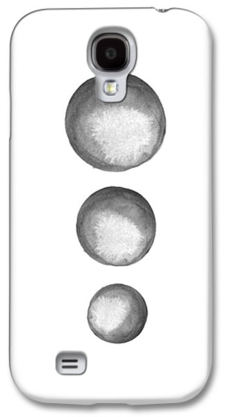 Rising Moons Galaxy S4 Case by Nordic Print Studio