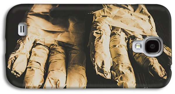 Rising Mummy Hands In Bandage Galaxy S4 Case by Jorgo Photography - Wall Art Gallery