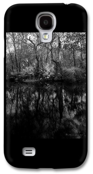 River Bank Palmetto Galaxy S4 Case by Marvin Spates