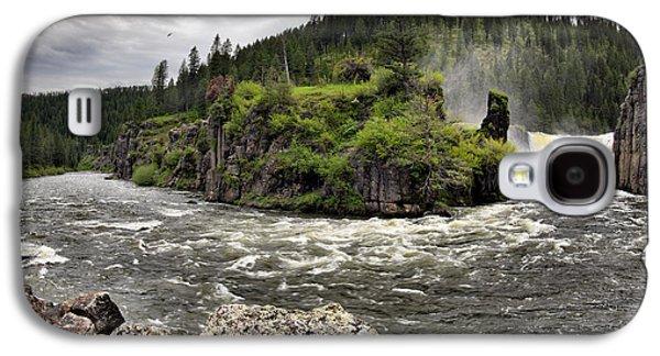 Idaho Photographs Galaxy S4 Cases - River Course Galaxy S4 Case by Leland D Howard