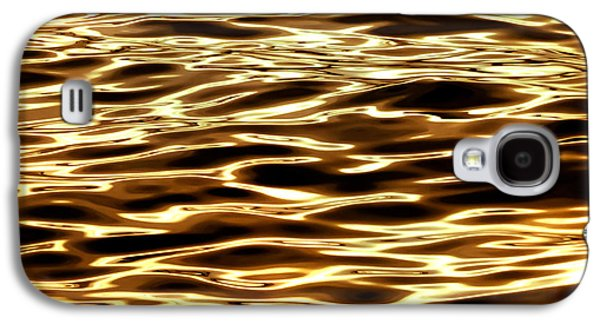 Surrealism Galaxy S4 Case - River Of Gold by Az Jackson