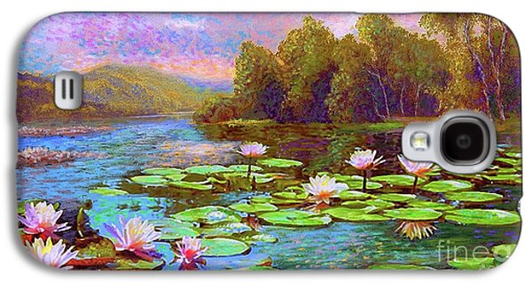 Lily Galaxy S4 Case - The Wonder Of Water Lilies by Jane Small