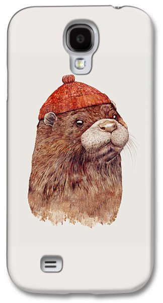 River Otter Galaxy S4 Case by Animal Crew