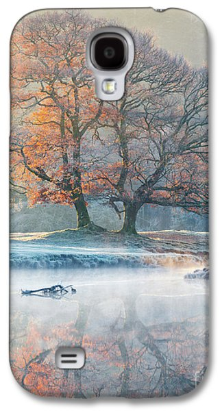 River Reflections - Winter Galaxy S4 Case by Tony Higginson