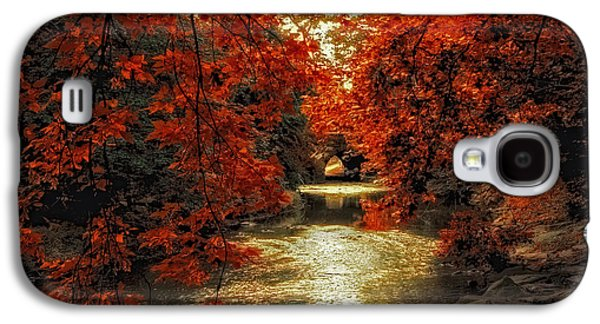 Riverbank Red Galaxy S4 Case