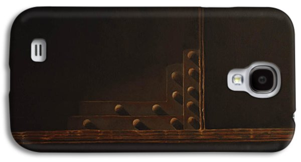 Rivets And Shadow Galaxy S4 Case by Scott Geyer