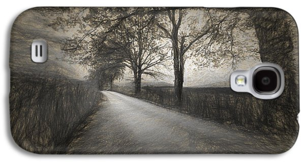 Road Not Traveled Iv Galaxy S4 Case by Jon Glaser