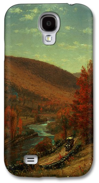 Road Through Belvedere Galaxy S4 Case by Thomas Worthington