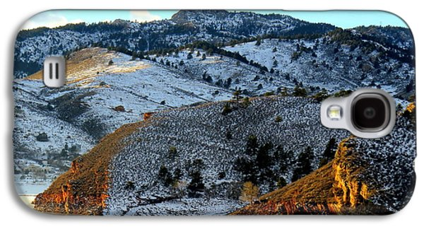 Road To Horsetooth 2 Galaxy S4 Case by Diane M Dittus