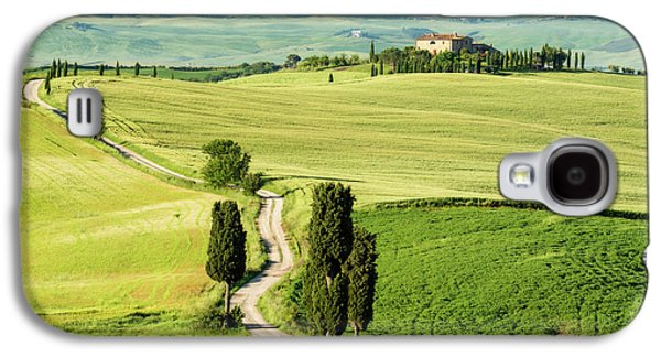Road To Terrapille Galaxy S4 Case by Michael Blanchette