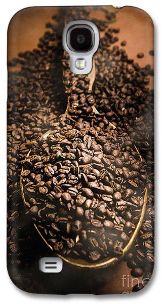 Roasting Coffee Bean Brew Galaxy S4 Case by Jorgo Photography - Wall Art Gallery