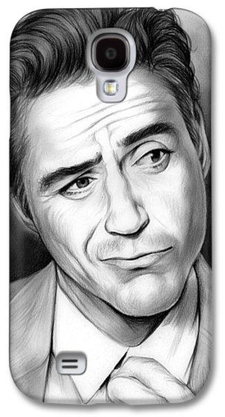 Robert Downey Jr Galaxy S4 Case by Greg Joens
