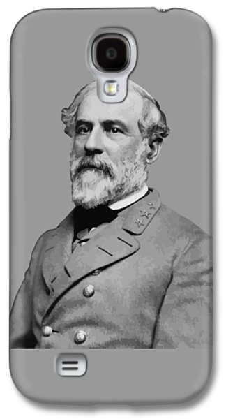 Robert E Lee - Confederate General Galaxy S4 Case by War Is Hell Store